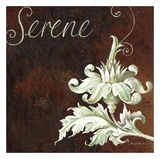 Serene Poster by Maria Woods