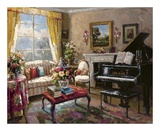 The Music Room Print by  Foxwell