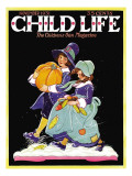 Off to a Feast - Child Life, November 1931 Giclee Print by Hazel Frazee