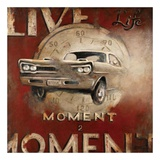 Live Life Poster by Janet Kruskamp