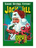 Santa's Elves - Jack and Jill, December 1977 Giclee Print by Robert Chronister