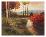Autumn River in Tuscany Prints by Kanayo Ede