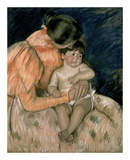 Mother and Child Print by Mary Cassatt