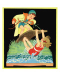 Summer Fun - Child Life, August 1931 Giclee Print by Hazel Frazee