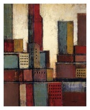 City Block Skyline II Prints by Joel Holsinger