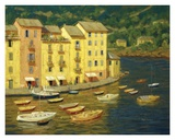 Portofino, Italy Art by Roger Williams
