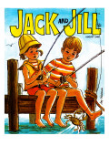 Crab Fishing - Jack and Jill, August 1969 Giclee Print by Joy Friedman