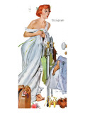 "It's Me Darling - Your Husband! - Saturday Evening Post ""Leading Ladies"", December 3, 1949 pg.28 Giclée-Druck von Joe deMers"