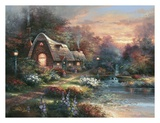 Country Quiet Print by James Lee
