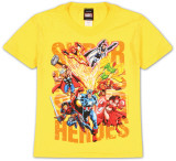 Youth: Super Hero Squad - Power Type T-shirts