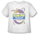 Toddler: Blow Pop - Label T-Shirt