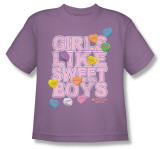 Toddler: Necco - Girls Like Sweet Boys Shirts