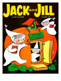 Spook School - Jack and Jill, October 1962 Giclee Print by Becky Krehbiel