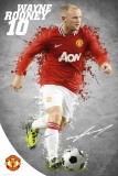 Man Utd-Rooney 1112 Prints