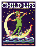 Sweet Dreams - Child Life, March 1925 Giclee Print by Hazel Frazee