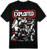 The Exploited - Collage T-Shirt