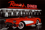 Rosie&#39;s Diner Prints