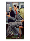"Doctor's Assignment - Saturday Evening Post ""Men at the Top"", January 26, 1957 pg.24 Giclee Print by Dick Stone"