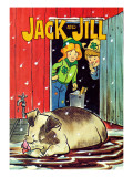 Muddy Bath - Jack and Jill, January 1985 Giclée-Druck