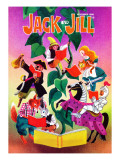 Book Magic! - Jack and Jill, November 1988 Giclee Print by Allan Eitzen