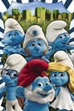 The Smurfs- New York Poster