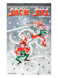 Elf Dance - Jack and Jill, January 1956 Giclee Print by Beth Henninger Krush
