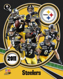 Pittsburgh Steelers 2011 Team Composite Photographie