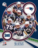 New England Patriots 2011 Team Composite Fotografía