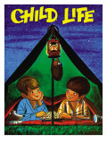 Camping - Child Life, August 1971 Giclee Print by Joy Friedman