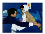 "Stand-In Girl - Saturday Evening Post ""Leading Ladies"", May 28, 1960 pg.35 Giclee Print by Robert Jones"