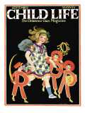 ABC's - Child Life, September 1925 Giclee Print by Hazel Frazee