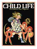 ABC's - Child Life, September 1925 Giclee Print by Hazel Frazee
