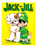 Puppy Love - Jack and Jill, March 1970 Giclee Print by Ruth Bendel
