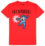 Mega Man - Let's Rock T-shirts