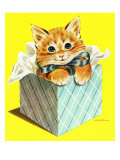 Kitten - Jack and Jill, August 1957 Giclee Print by Wilmer Wickham