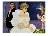 "The Don't Touch Girl - Saturday Evening Post ""Men at the Top"", August 22, 1959 pg.24 Giclee Print by Robert Jones"
