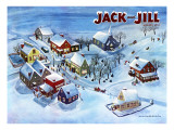 All Is Calm - Jack and Jill, January 1950 Giclee Print by Dorothy Jones