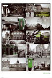 Dublin (Collage) Posters
