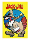 Pilgrim Turkey - Jack and Jill, November 1983 Giclee Print by B. B. Sams