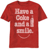 Coke - Have A Smile T-Shirts