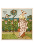 How Does My Lady's Garden Grow Posters
