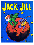 Space Fetch - Jack and Jill, May 1978 Giclee Print by Tom Eaton