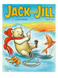 A Real Fish Story - Jack and Jill, January 1964 Giclee Print by Patricia Lynn