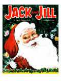 Jolly Old St. Nick - Jack and Jill, December 1962 Giclee Print by Irma Wilde