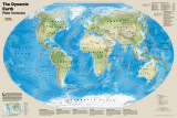 National Geographic Dynamic Earth, Plate Tectonics Plakater