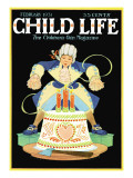 Happy Birthday George! - Child Life, February 1931 Giclee Print by Hazel Frazee