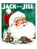 Christmas Treat - Jack and Jill, December 1960 Giclee Print by Unknown