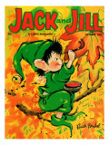 Painting the Leaves - Jack and Jill, October 1963 Giclee Print by Ruth Bendel