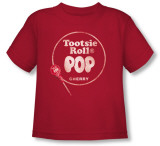 Toddler: Tootsie Roll - Tootsie Roll Pop Logo Shirt