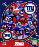 New York Giants 2011 Team Composite Photo